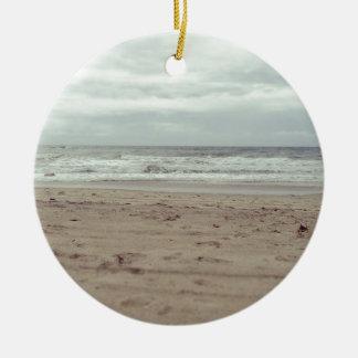 The Beach Ceramic Ornament