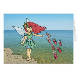 The Beach Fairy Card