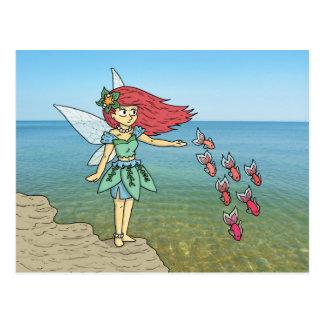 The Beach Fairy Postcard