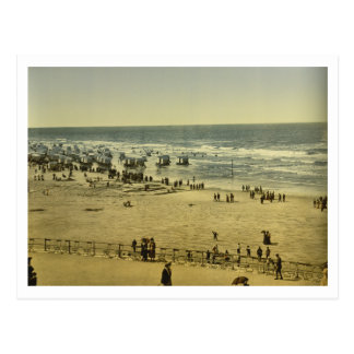 The Beach from the Casino, Ostend, Belgium Postcard