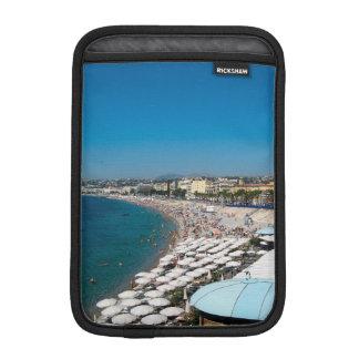 The beach in Nice, France iPad Mini Sleeves