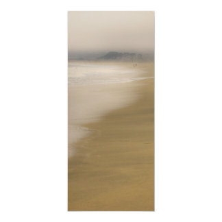 The Beach 4x9.25 Paper Invitation Card