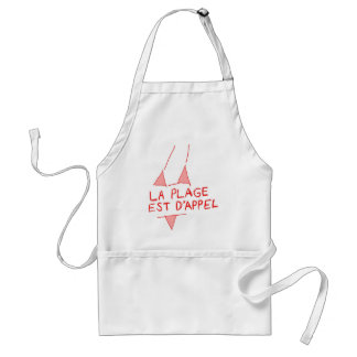 The Beach Is Calling Adult Apron