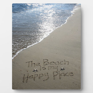 The Beach is my Happy Place Display Plaques