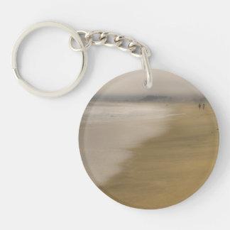 The Beach Key Chain