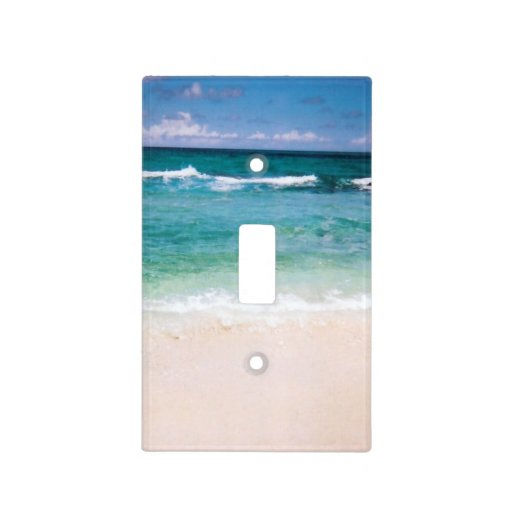 The Beach Light Switch Cover Zazzle