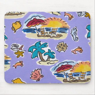 the beach mouse pad