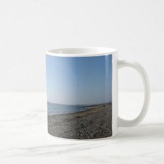 The Beach Classic White Coffee Mug