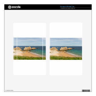 The beach of Arnia in Cantabria Decal For Kindle Fire