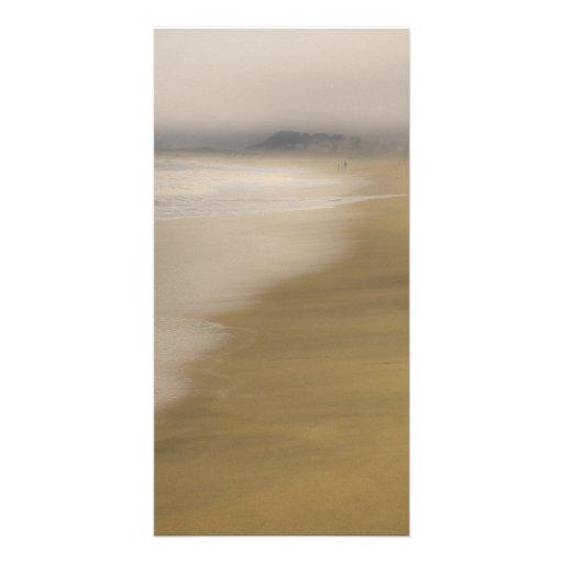 The Beach Photo Card Template