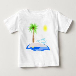 The Beach Scene Baby T-Shirt