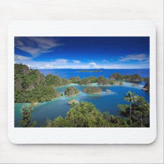 The beach secret paradise islands mousepad