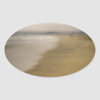 The Beach Oval Stickers