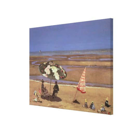 The Beach Stretched Canvas Prints