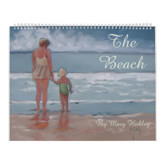 The Beach Surf Sand Sun Calendar