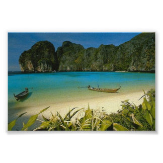 """The Beach"" Thailand Poster"