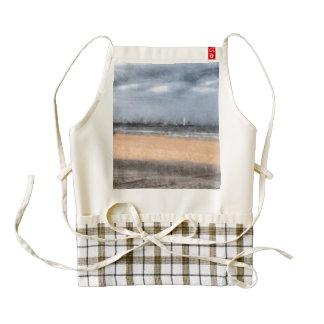 The beach zazzle HEART apron