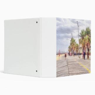 The beachfront 3 ring binder