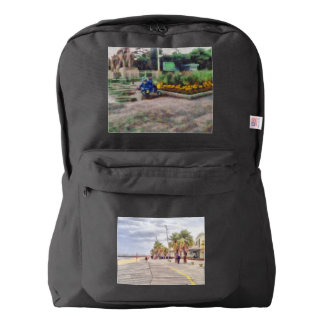 The beachfront backpack