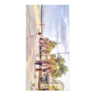 The beachfront card