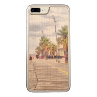 The beachfront carved iPhone 7 plus case
