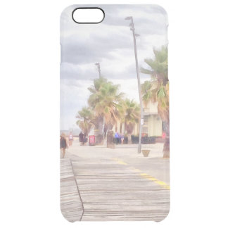 The beachfront clear iPhone 6 plus case