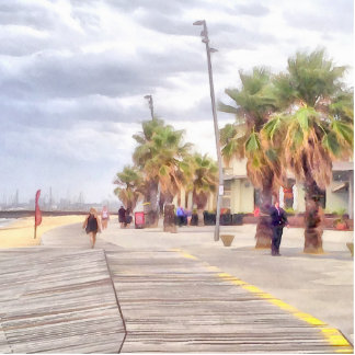The beachfront cutout