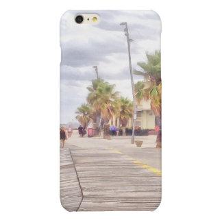 The beachfront glossy iPhone 6 plus case