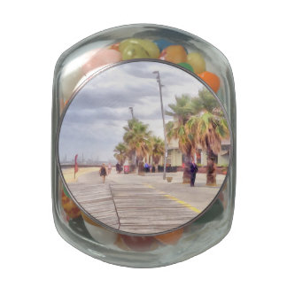 The beachfront jelly belly candy jars