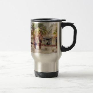 The beachfront travel mug