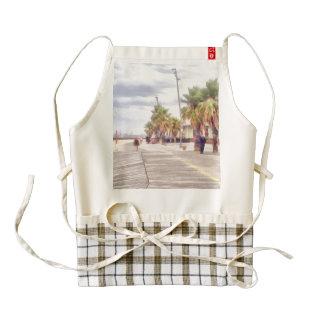 The beachfront zazzle HEART apron