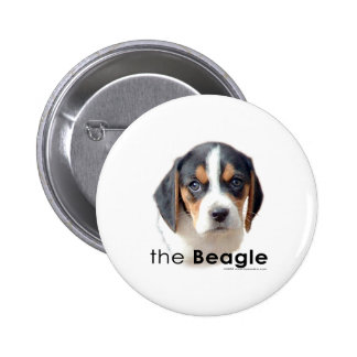 The Beagle 2 Inch Round Button