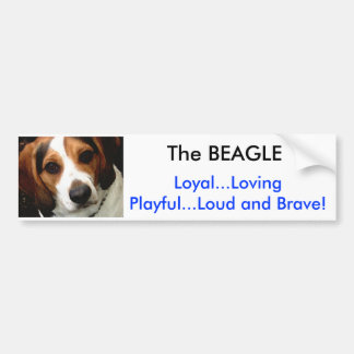 The BEAGLE Bumper Sticker