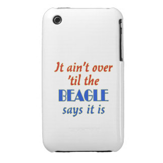 The Beagle Says (Customizable) iPhone 3 Covers