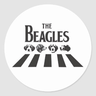 The Beagles sticker