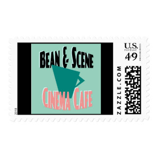 The Bean and Scene Postage Stamp