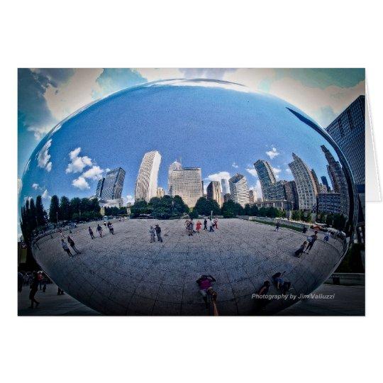 """The Bean"" - Millennium Park Chicago, Il. Card"