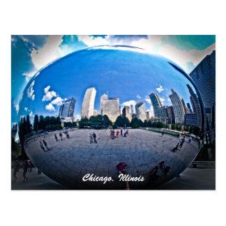 The Bean - Millennium Park Chicago, Il. Postcard
