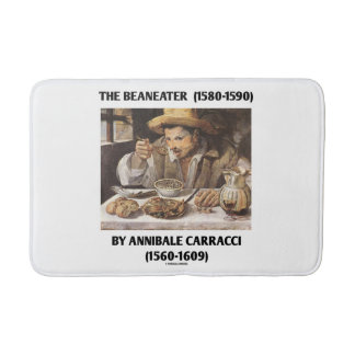 The Beaneater (1580-1590) By Annibale Carracci Bathroom Mat