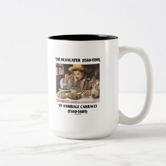 The Beaneater (1580-1590) By Annibale Carracci Two-Tone Coffee Mug