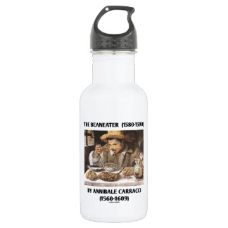 The Beaneater (1580-1590) By Annibale Carracci Water Bottle