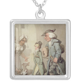 The Bear and Bear Leader Silver Plated Necklace