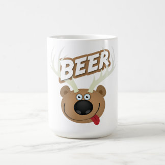 The Bear Deer Beer Coffee Mug