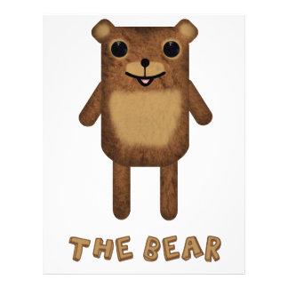 The Bear from The Bear The Cloud And God Custom Flyer