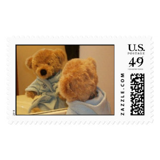 The Bear In The Mirror Stamp