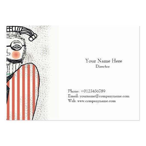 The Beard Head Business Card
