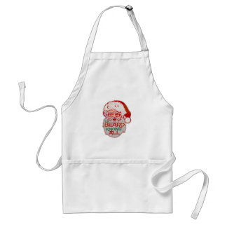 the beard knows all adult apron
