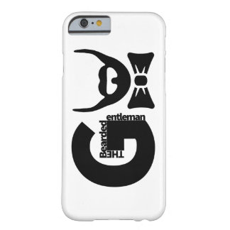 The Bearded Gentleman Barely There iPhone 6 Case