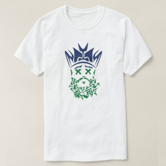The Bearded King- Mavs Throwback Green Eyes T-Shirt