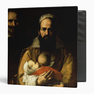 The Bearded Woman Breastfeeding, 1631 3 Ring Binder